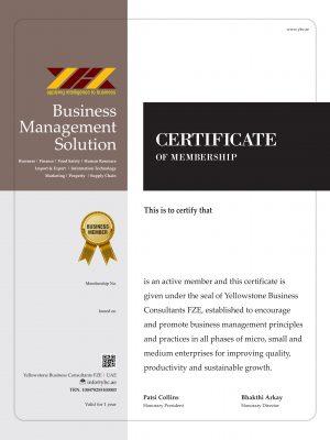 certificate NEW